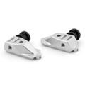 CNC Swingarm Spool Adapters Honda CBR500R (2014-2015) Silver