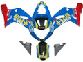 Fairings Suzuki GSXR 750 Blue Red Rizla GSXR Racing  (2000-2003)