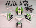 Fairings Honda CBR 1000 RR White Green Hannspree Racing (2008-2011)