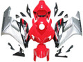 Fairings Honda CBR 1000 RR Red Silver Black CBR Racing (2004-2005)