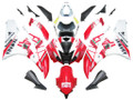 Fairings Yamaha YZF-R6 White Red No.46 FIAT R6 Racing (2006-2007)