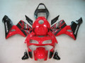 Fairings Honda CBR 600 RR Red & Black Honda Racing (2003-2004)