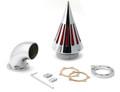 Spike Air Cleaner Intake Filter Kit Harley Davidson CV S&S Carburetor (All Models)