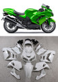 Fairings Plastics Kawasaki ZX14R Ninja Green Racing (2012-2015)