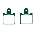 FRONT Brake Pads for KAWASAKI ZX6R (ZX 600 P7F/P8G/R9F/RAF), Z 1000 ABS, ZZR 1400 ABS
