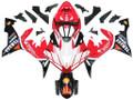 Fairings Yamaha YZF-R1 Red Black Santander  Racing (2004-2006)