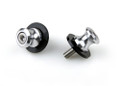 8mm Swingarm Sliders Spools Suzuki GSXR 600 750 1000 1300 Silver