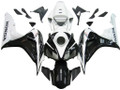 Fairings Honda CBR 1000 RR Black and White CBR Racing (2006-2007)