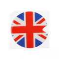1x Union Jack UK Flag Pattern Vinyl Sticker Decal Mini Cooper Gas Cap Cover