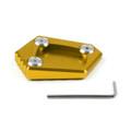 Kickstand Shoe Extension Plate Pad Side Stand Honda NC700S X (12-14) NC700 Integra (12-14) CBR500R (13-15) CB500F X (13-14) Gold