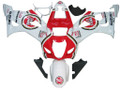 Fairings Suzuki GSXR 1000 White and Red Lucky Strike Racing  (2003-2004)