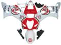 Fairings Suzuki GSXR 1000 White and Red Lucky Strike Racing  (2003-2004)