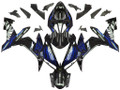 Fairings Yamaha YZF-R1 Black & Blue Flame R1 Racing (2004-2006)