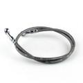 "19"" 50cm Brake Line Oil Hose Banjo Fitting Stainless Steel End"