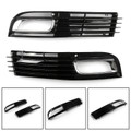 Pair ABS Car Lower Bumper Grille Fog Light Grill Chromed For Audi A8 D3 08-10