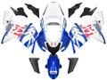 Fairings Kawasaki ZX 10R Blue White FIAT Racing (2004-2005)