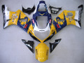 Fairings Suzuki GSXR 1000 Yellow & Blue Corona GSXR Racing  (2000-2002)