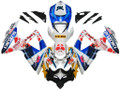 Fairings Suzuki GSXR 600 750 Multi-Color pepephone Racing  (2008-2009-2010)
