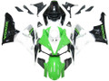 Fairings Honda CBR 1000 RR White Green Black CBR Honda Racing (2006-2007)