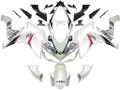 Fairings Yamaha YZF-R1 White Carbon Look R1 Racing (2007-2008)