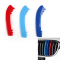 M Power Kidney Grille Grill Buckle Color Strip Decorate Covers BMW 2 Series 12 rod