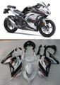 Fairings Plastics Kawasaki Ninja 300R EX300R White Art Ninja Racing (2013-2014-2015)