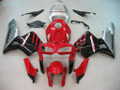 Fairings Honda CBR 600 RR Red Black Silver CBR Racing (2005-2006)
