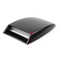 Universal Car Decorative Air Flow Intake Scoop Turbo Bonnet Vent Cover Hood Black