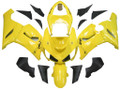 Fairings Kawasaki ZX6R 636 Yellow Black Ninja Racing  (2005-2006)