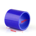 Straight 0 Degree 76mm 68mm Silicone Pipe Hose Coupler Intercooler Turbo Intake
