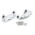 4 Point Docking Hardware Kit for Road King Street Glide FLHR FLHX FLHRC 2009-13 Chrome