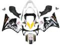 Fairings Honda CBR 600 F4i Black & White Playboy Racing (2001-2003)