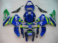 Fairings Honda CBR 600 RR Blue & Green Movistar Racing (2005-2006)