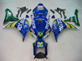 Fairings Honda CBR 1000 RR Blue & Green Movistar Racing (2006-2007)
