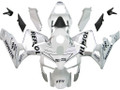 Fairings Honda CBR 600 RR White & Silver Repsol Racing (2003-2004)