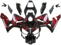 Fairings Honda CBR 600 RR Black & Red Flame Racing (2003-2004)
