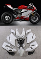 Fairings Ducati 1199 Panigale Red White 1199 Racing (2012-2015)