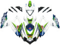 Fairings Suzuki GSXR 600 750 Multi-Color Worx Racing  (2008-2009-2010)