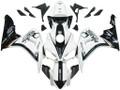Fairings Honda CBR 1000 RR White & Black CBR Racing (2006-2007)