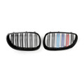 Front Sport Grille Grill Double Rib BMW E60 E61 5 Series M5 2003-2010 M-Color