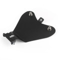 Motorcycle Solo Seat Baseplate Bracket For Harley Davidson Sportster, Black