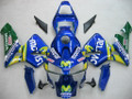 Fairings Honda CBR 600 RR Blue & Green Movistar Racing (2003-2004)