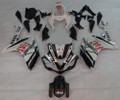 Fairings Yamaha YZF-R1 Black White FIAT R1 Racing (2007-2008)