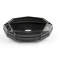 Speedometer Tachometer Gauge Case Cover Kawasaki Z1000 (2014-2015) Black
