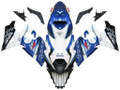 Fairings Suzuki GSXR 1000 White Blue Alstare Corona Racing  (2007-2008)