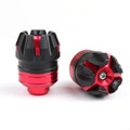 Fork Cups Scooter Front wheel Drop Resistance Motorcycle Aluminium Universal, Red