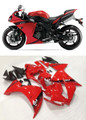 Fairings Plastics Yamaha YZF R1 Red R1 Racing (2013-2014)
