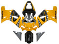 Fairings Suzuki GSXR 750 Yellow Black GSXR Racing  (2000-2003)