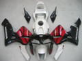 Fairings Honda CBR 600 RR Black Red Silver CBR Racing (2005-2006)