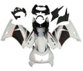 Fairings Kawasaki ZX250R EX250 White Black Ninja ZX250 Racing (2008-2012)